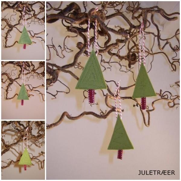 Juletræer i filt