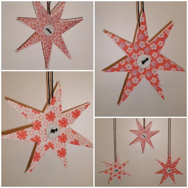 røde stjerner