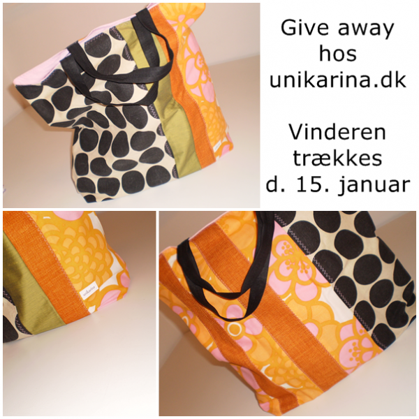 Give away unikarina shopping bag