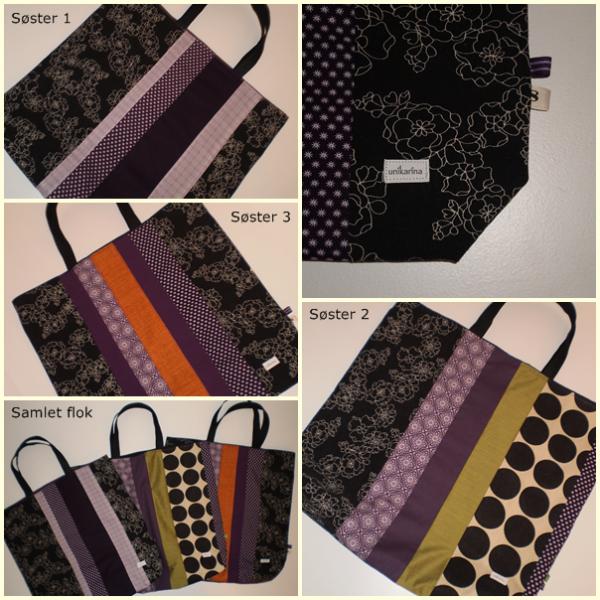 Shoppingbags til søstrene