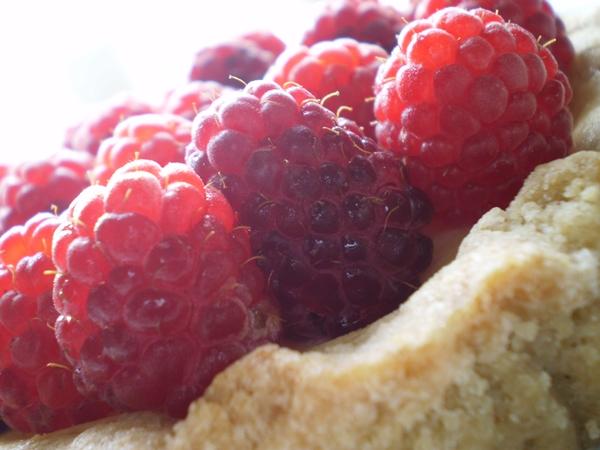 Hindbærtærte