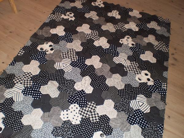 begyndelsen på et tæppe