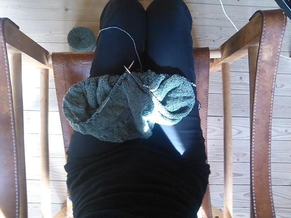 strikkespot i solen