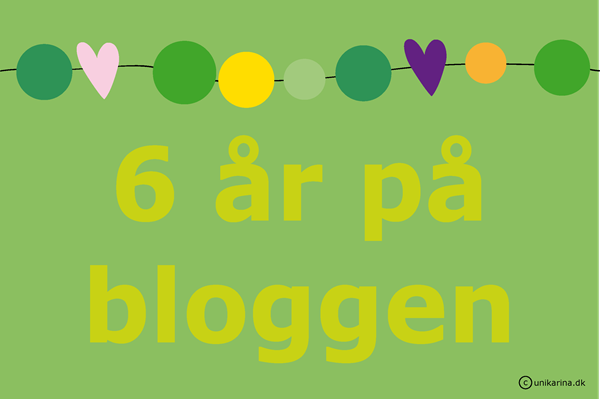 6 år på bloggen