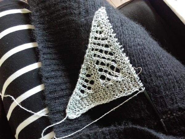 starten på et sjal