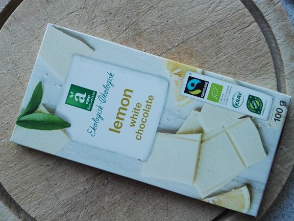 lemon chokolade