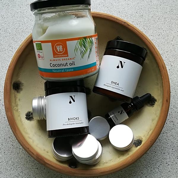 hjemmelavet læbepomade med kokosolie